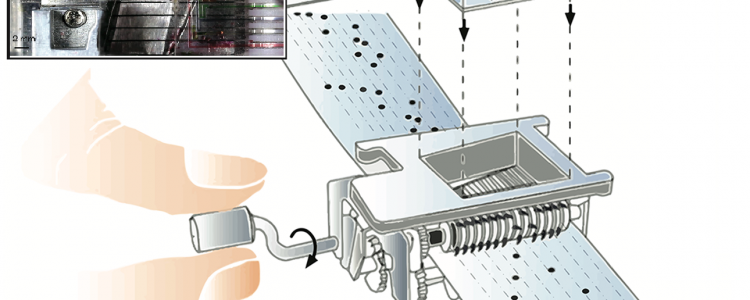 Punch Card Programmable Microfluidics – Lab On The Cheap